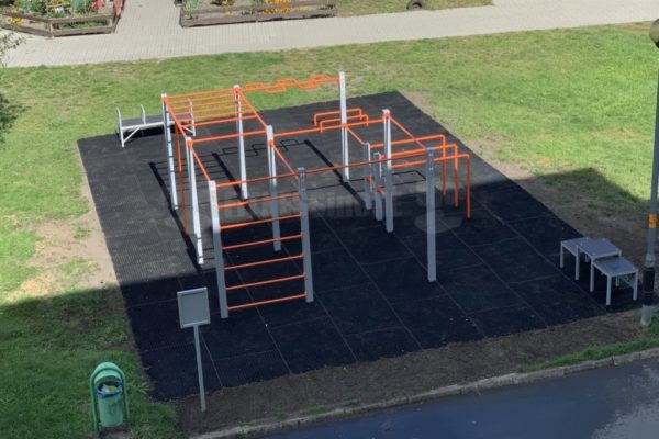 Street Workout Fitnessinone SWP M3 – realizacja Chocianów – Fitness in one SWPM3 – siłownie zewnętrzne i wewnętrzne 6