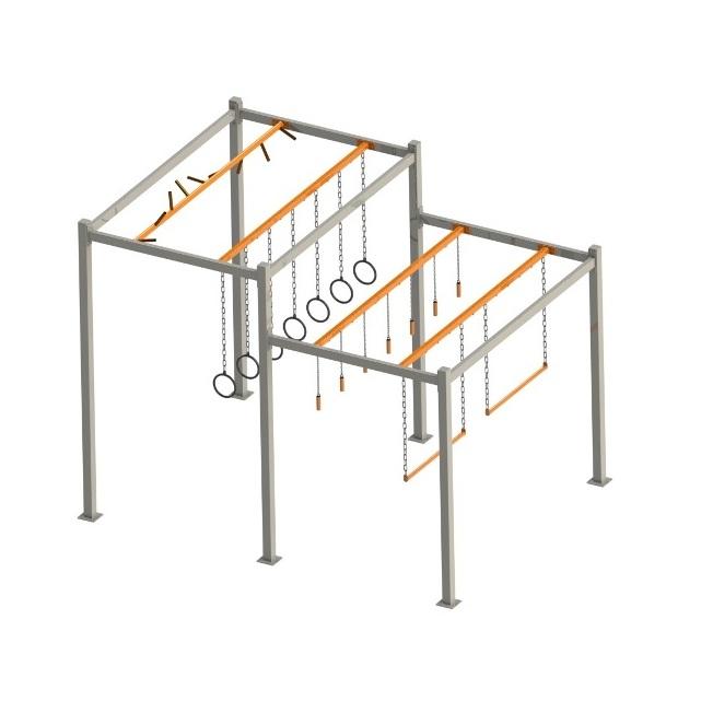 FITNESSinONE brama podwójna 3x2x3m -641