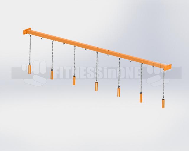 Fitnessinone OCR belka podporowa nunchaku – support beam nunchaku